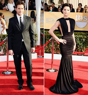 Peter Facinelli's New Girlfriend Jaimie Alexander Stuns in Sexy Gown at SAG Awards