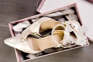 A bride's guide to the perfect wedding shoes
