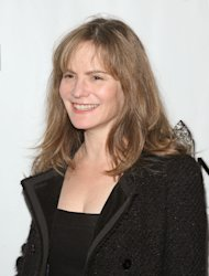 Jennifer Jason Leigh attends the opening night of 'the Book of Mormon' on Broadway at Eugene O'Neill Theatre, New York City, on March 24, 2011  -- Getty Images