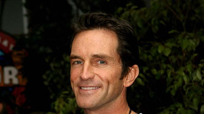 "Jeff Probst at the ""Survivor: Cook Islands"" Finale."
