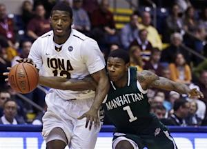 Iona beats Manhattan to win MAAC tournament title
