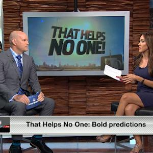 That Helps No One: Bold Predictions