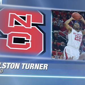 Best of NC State's Ralston Turner vs Tennessee
