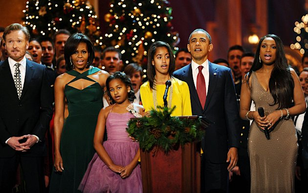 OBrien-Obama-Hudson-XmasInWashington121111