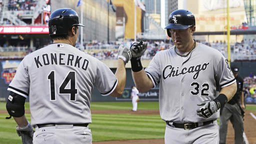Dunn hits 28th homer to lead White Sox over Twins