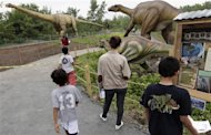 Apre parco preistorico in New Jersey, dinosauri visibili dall&#39;Empire