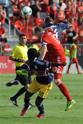 Red Bulls, Toronto FC finish in scoreless draw