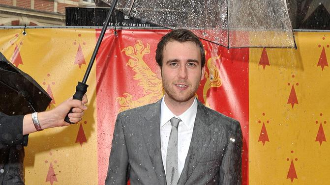 Harry Potter and the Half Blood Prince UK Premiere 2009 Matthew Lewis