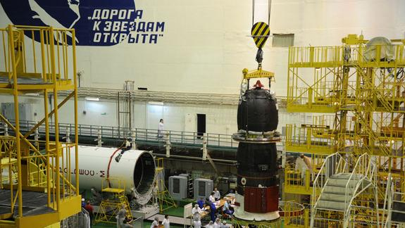 Russian Supply Ship to Launch & Arrive at Space Station on Same Day Today