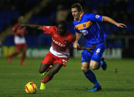 Soccer - Sky Bet League One - Shrewsbury Town v Leyton Orient - Greenhous Meadow