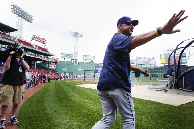 Cleveland Indians manager Francona returns to Fenway Park in Boston