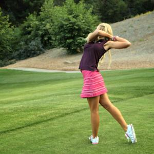 The Sexiest Shots in Golf - Anna Rawson Shows You How to Hit Your Golf Ball Inside Your Opponent's