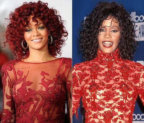 Rihanna Wants to Portray Whitney Houston on the Big Screen