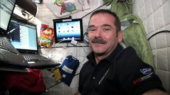 Space Station Astronaut Calls for Peace on Earth
