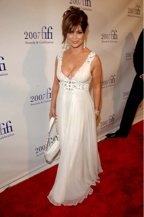 Paula Abdul at The Fragrance Foundation Hosts the 2007 FiFiÆ Awards & Celebration.