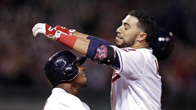 Aviles' walk-off hit give Indians 4-3 win