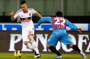 Catania 1-3 AC Milan: El Shaarawy double earns resurgent Rossoneri third win on the spin
