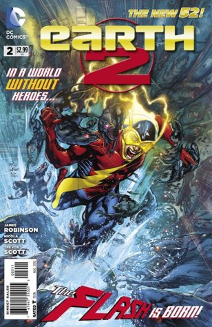 This image provided by DC Entertainment shows the cover of the second issue ...