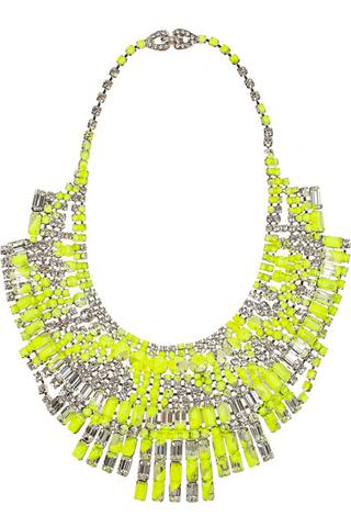 Tom Binn's Slap Dash necklace, $1900, at Net-a-Porter