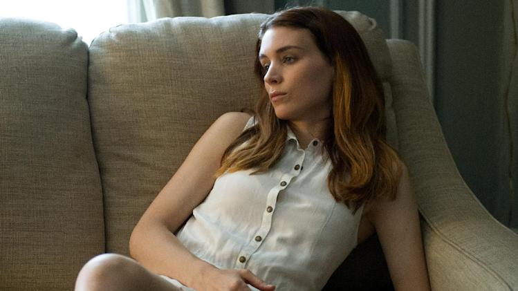 "This film image released by Open Road Films shows Rooney Mara in a scene from ""Side Effects."" (AP Photo/Open Road Films, Barry Wetcher)"
