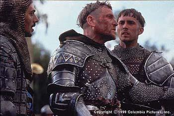Tcheky Karyo and Desmond Harrington in Columbia's The Messenger: The Story of Joan of Arc