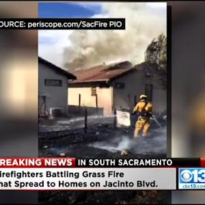 At Least 2 Homes Burned In South Sacramento Fire