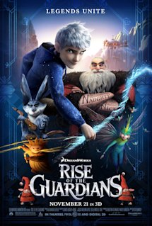 Poster of Rise of the Guardians