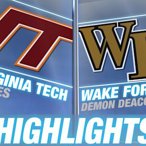 Virginia Tech vs Wake Forest | 2014-15 ACC Men's Basketball Highlights