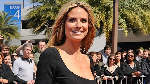 "Heidi Klum attends the ""America's Got Talent"" New Orleans auditions as a judge at UNO Lakefront Arena on March 4, 2013 in New Orleans, Louisiana."