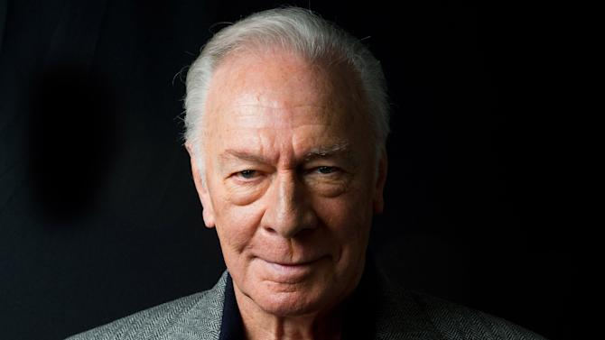 "FILE - This May 24, 2011 file photo shows actor Christopher Plummer in New York. Plummer, who helped present at the Tony Awards on Sunday and who thrilled Nina Arianda by handing her a best actress award, is preparing for his stage performance in ""The Tempest"" to be shown in hundreds of movie theaters on Thursday. Later this fall, his ""Barrymore"" will hit movie screens across the world. (AP Photo/Charles Sykes, file)"