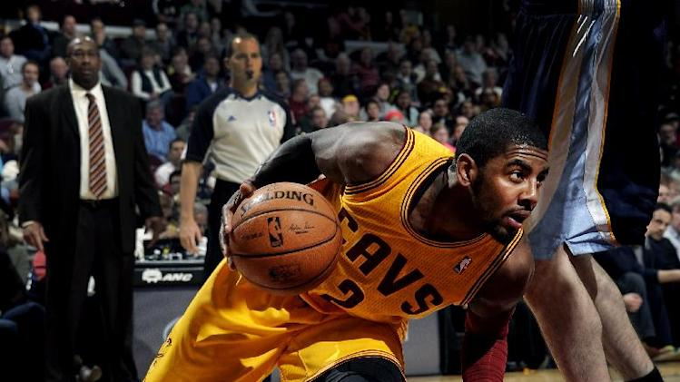 Irving scores 28, Cavs beat Memphis 91-83 in OT
