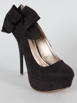Qupid Neutral 212 Bow Stiletto Pump
