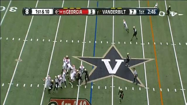 Georgia - Aaron Murray Pass to Arthur Lynch