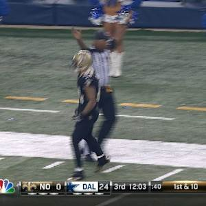 New Orleans Saints wide receiver Kenny Stills 46-yard reception