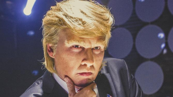 Johnny Depp stars in an insane Donald Trump parody movie we never saw coming