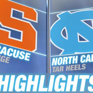 Syracuse vs UNC | 2015 ACC Men's Lacrosse Championship Highlights