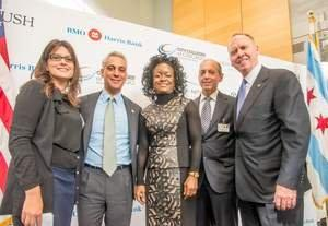 PHOTO UPDATE: Rush to Create New Education and Career Opportunities While Improving Health Care in Chicago Through $5 Million Donation From BMO Harris Bank