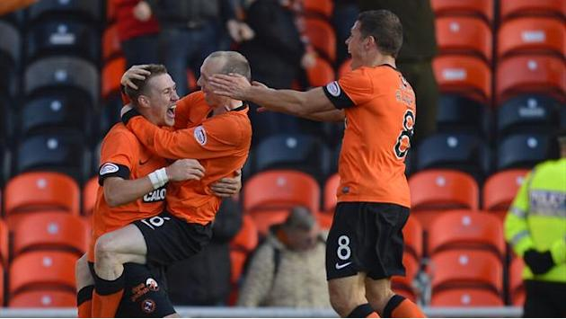 Scottish Football - Dundee United seal derby triumph