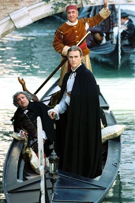 Omid Djalili and Heath Ledger in Touchstone Pictures' Casanova