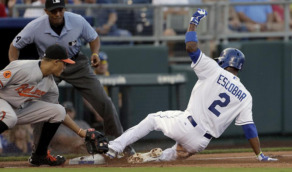 Royals hold on to beat Orioles, 3-2