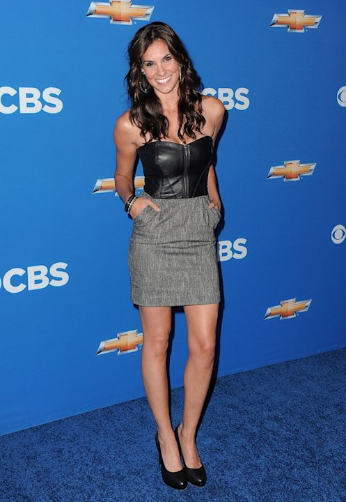 Daniela Ruah ''NCIS: Los Angeles&quot; arrives at the CBS Fall Season Premiere party at The Colony on September 16, 2010, in Los Angeles. 