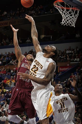 Wichita State defeats Missouri State 69-59