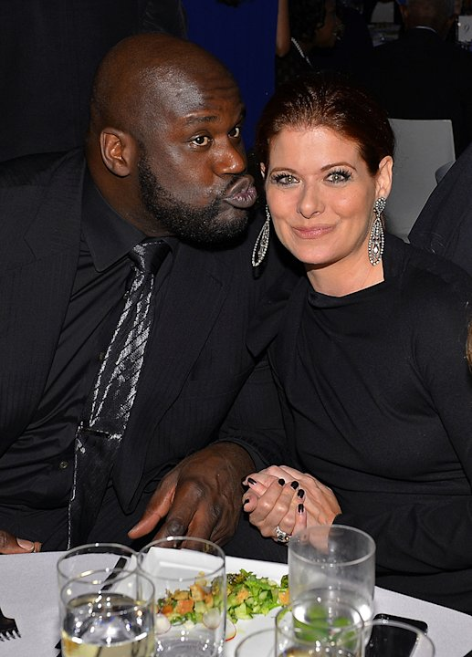 Shaquille O'Neal, Debra messing