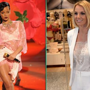 Sizzle in Lingerie-Inspired Clothing Like Rihanna and Britney Spears
