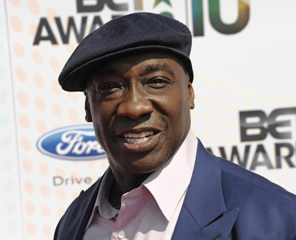 FILE - This June 27, 2010 file photo shows actor Michael Clarke Duncan at the BET Awards in Los Angeles. Publicist Joy Fehily said in a brief email statement Monday, Aug. 6, 2012, that the 54-year-old actor was just moved from the intensive care unit, but remains hospitalized following his July 13 heart attack. (AP Photo/Dan Steinberg, file)
