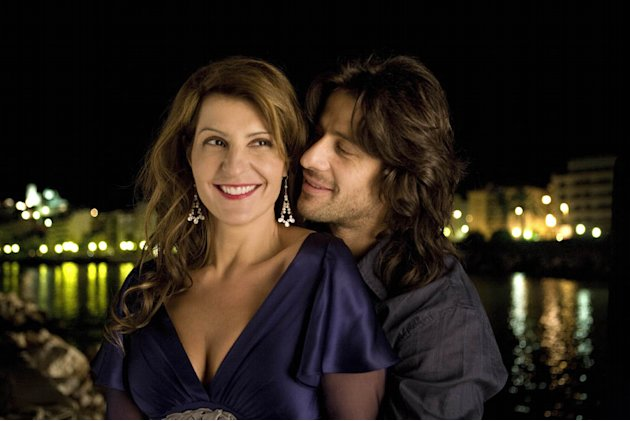 Alexis Georgoulis Nia Vardalos My Life in Ruins Production Stills Fox Searchlight 2009