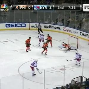 Steve Mason Save on Dan Boyle (12:25/2nd)
