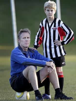 New Zealand volunteer youth soccer referee David Adams &#x002014; The Dominion Post