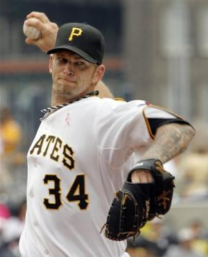 Harrison lifts Pirates over Astros 3-2 in 12th