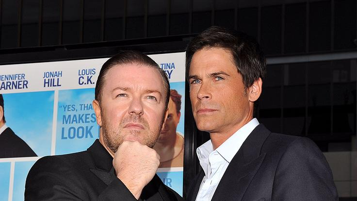 The Invention of Lying LA premiere 2009 Ricky Gervais Rob Lowe